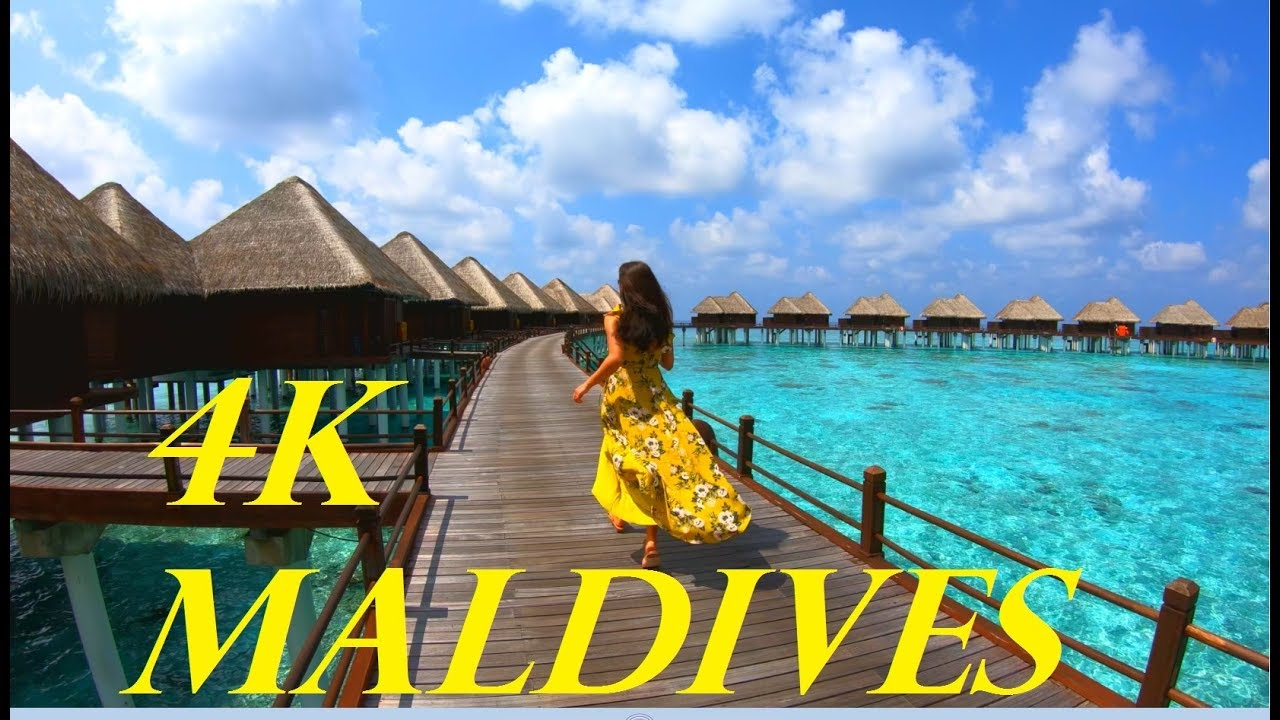Maldives In 4k Sun Aqua Vilu Reef