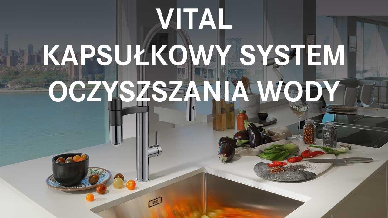 Poważnie Kapsułkowy system oczyszczania wody Franke Vital - Polski - YouTube FK85