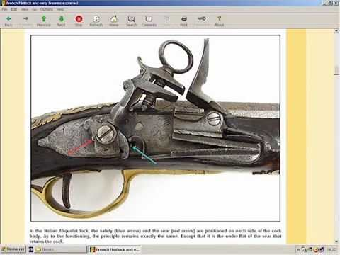 Flintlock & Early Firearms Explained - available at HLebooks.com