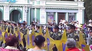 Омск День города 2011 Парад - 1 часть