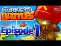 VICTORY!! - Bloons TD Battles Gameplay - Episode 1