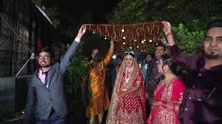 Din shagana da Wedding bride entry.   Rohan & Neha