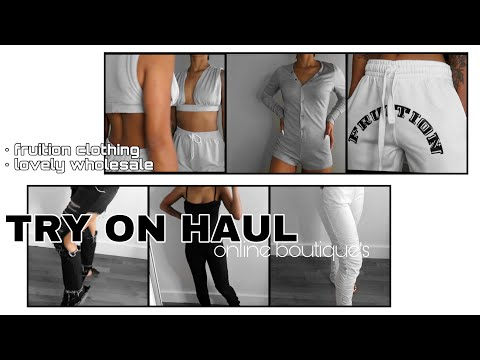 END OF SUMMER : BACK TO SCHOOL TRY ON HAUL FT. LOVELYWHOLESALE + FRUITION CLOTHING || ARIANA.AVA
