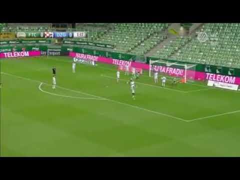 Lovrencsics Goljaval Vezet A Fradi A Dinamo Zagreb Ellen Youtube