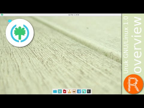 Uruk GNU/Linux 1.0 overview | fast, simple and strength GNU/Linux distribution