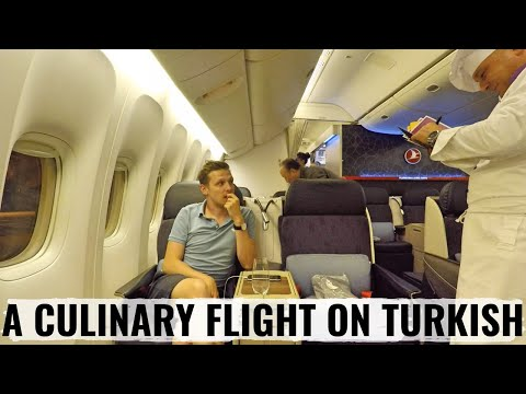 Turkish Airlines Business Class Review + Amazing Istanbul Lounge