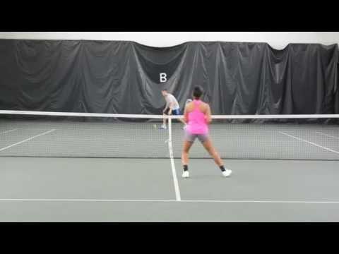 Jordan Williams college tennis video 2014