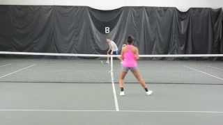 Jordan Williams college tennis video 2014