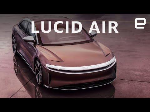 Lucid Air unveiling in 10 minutes