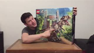 LEGO Jurassic World 75936 Jurassic Park: T. Rex Rampage time lapse and tour