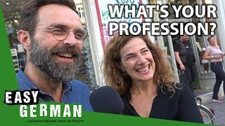 What is your profession? | Eąsy German 266
