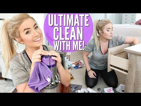 ULTIMATE CLEAN WITH ME | PLAY CLEANING MOTIVATION GAME | LOVEMEG
