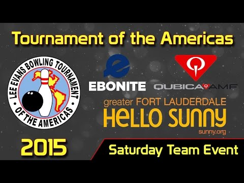 2015 Tournament Of The Americas | Saturday Team Event | Ft. Lauderdale, FL