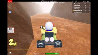 Mario Roblox Kart Racing part 1 (fail on the first lap!!)