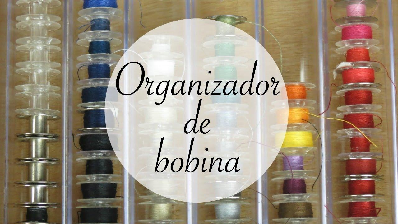 Dica Rápida: Organizadores De Bobina Da Máquina De Costura