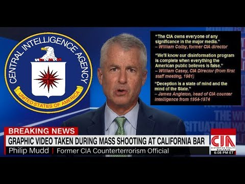 #BORDERLINE SHOOTING - CNN CIA - Do You See What I See?