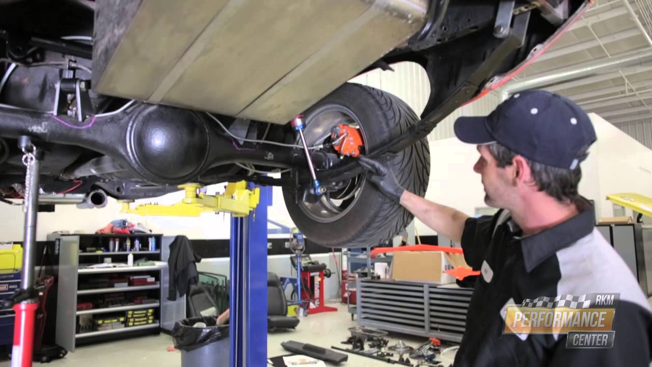 Pro Touring Cuda Rear Suspension Installation Rkm