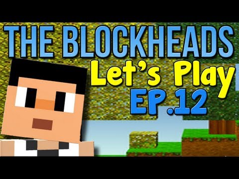 "Let's Play The Blockheads - Ep. 12 ""DONKEYS!!!"""