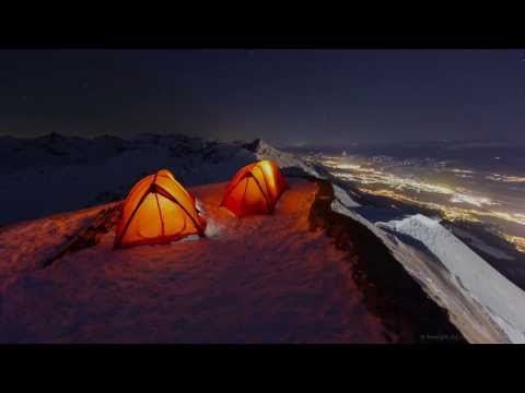 Adventures after Dark - Ski Hiking and the Nightsky above Innsbruck, Austria