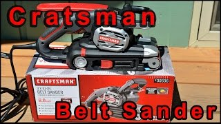 Craftsman Belt Sander Model 39596