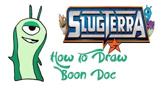 How To Draw Boon Doc (SLUGTERRA)