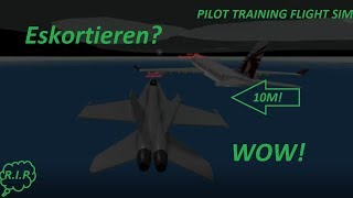 Eskortieren in Pilot Training FS !!! Roblox Deutsch/German