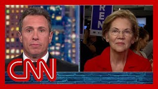 Watch Elizabeth Warren's post debate interview with Chris Cuomo