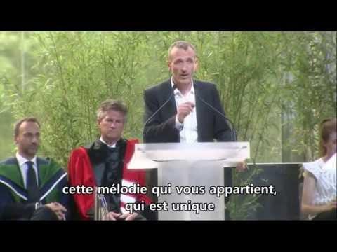Discours inattendu du directeur général de Danone aux diplômés d'HEC