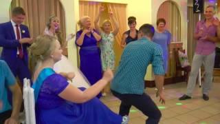 Рома зажигает на свадьбе! г.Россошь.HD (съёмка Огнева Галина)