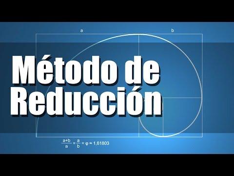 Método de Reducción - Sistema de Ecuaciones