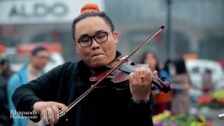 FLASHMOB Wake me up Rhapsody Philharmonic Ha Noi, Viet Nam