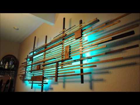 Wooden Art with LED back lighting