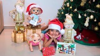 BABY ALIVE NATAL - Cartinha para Papai Noel com Bia Lobo.