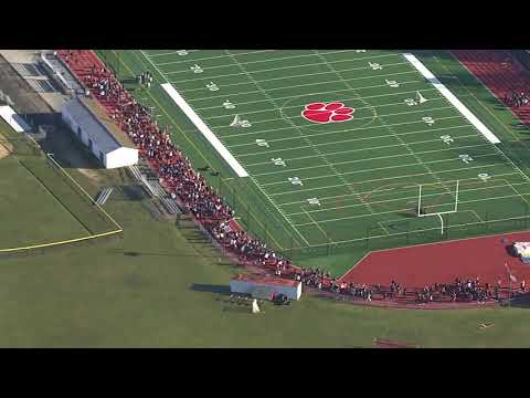 RAW VIDEO: Student walkout at Cherry Hill High School East