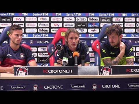 """Davide Nicola: """"Il Crotone è stato definito una favola. Quindi voglio il lieto fine"""""""