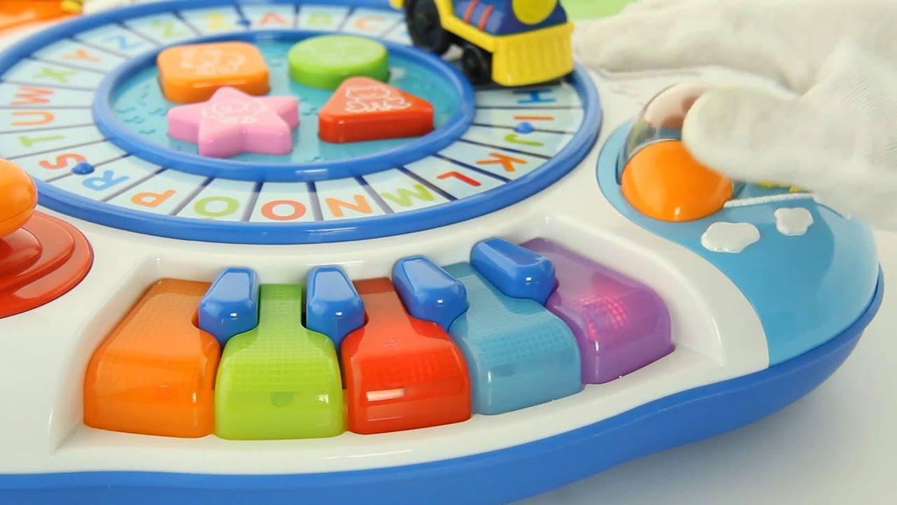 Smily Play Stolik Edukacyjny 0801 Prezentacja