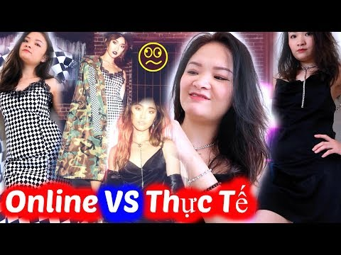 Mua Đồ Online VS Thực Tế | Expectations VS Reality Shopping Online Famous Youtuber ♡