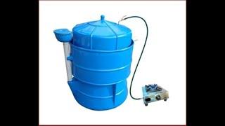 बायोगॅस compressed in LPG cylinder टेस्टिंग
