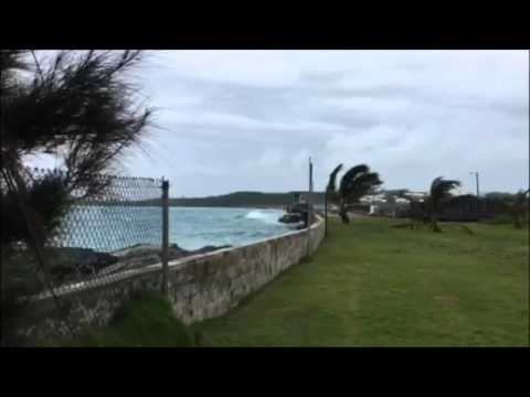 Causeway As Hurricane Approaches, Oct 4 2015