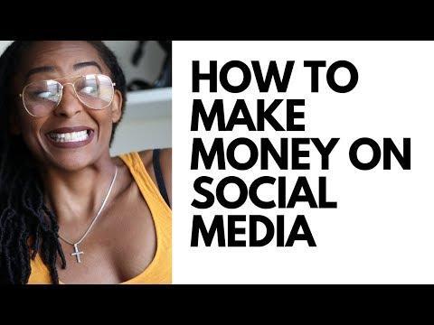 How To Make Money On Social Media (2019)