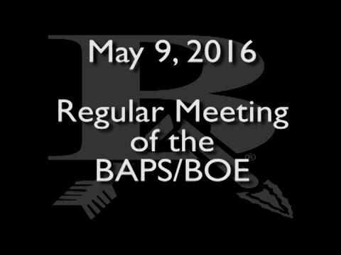 May 9, 2016, BAPE BOE