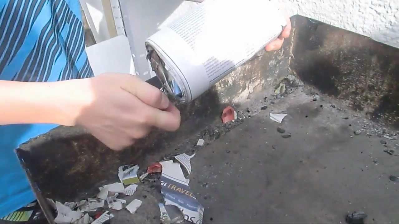 Bricomaniaco como hacer una chimenea de revistas facil y - Cocinar en la chimenea ...