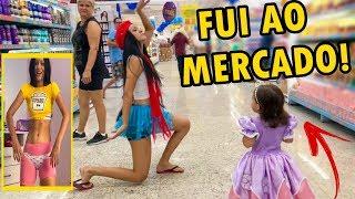 VESTINDO AS ROUPAS DE 1 ANO DA VALENTINA SOBRINHO [FUI AO MERCADO] !!!