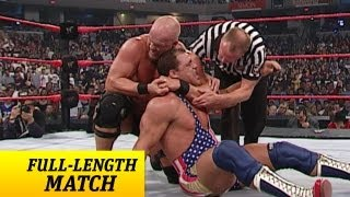 FULL-LENGTH MATCH - Raw - Kurt Angle vs. Steve Austin - WWE Championship Match