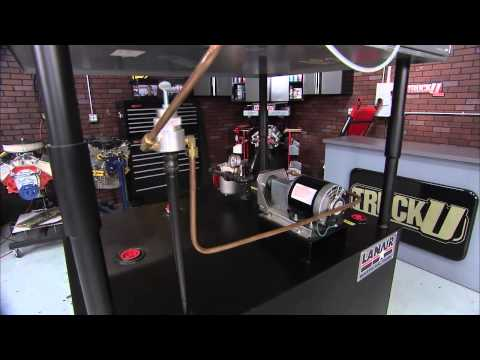 """Lanair Waste Oil Heater on TruckU: """"Can you Handle This"""" Episode #816"""