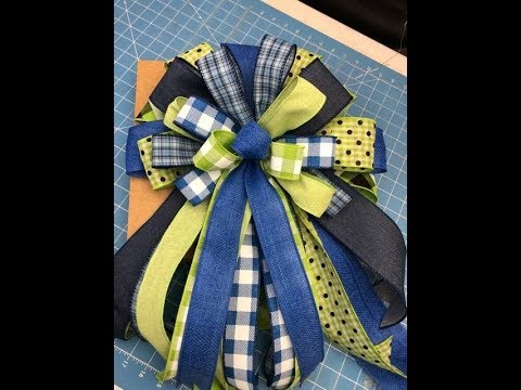 How to make a Big Bow on the EZ Bow Maker