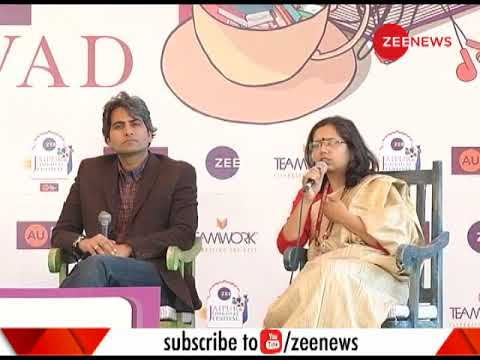 Watch: Sudhir Chaudhary speaks at the Zee Jaipur Literature Festival 2018
