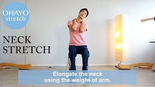 "Ohayo 1min stretching ""Neck 2"""