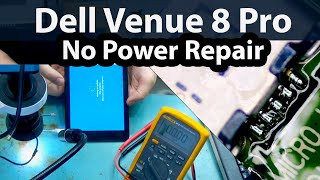 Dell Venue 8 Pro No Power and Not Charging Repair + Spectre x360 mail-ins