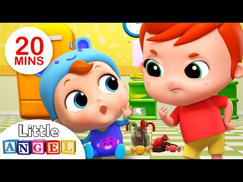 Johny Johny Yes Papa (Baby Version) | Peekaboo +More Nursery Rhymes & Kids Songs - Little Angel